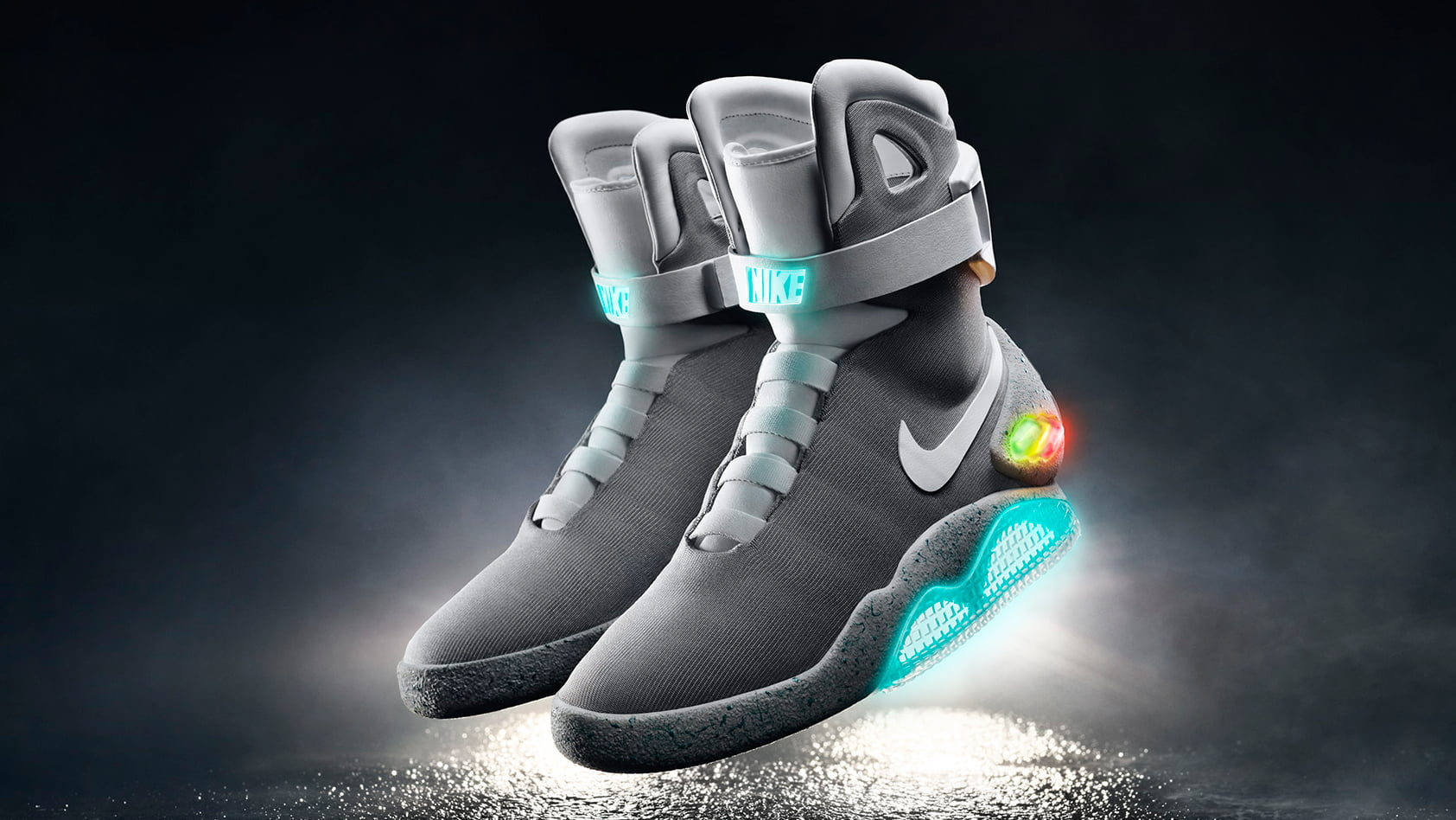 best sneakers 3e67d e3442 Nike Finally Reveals BTTF II Air Mag Sneakers With Power Laces