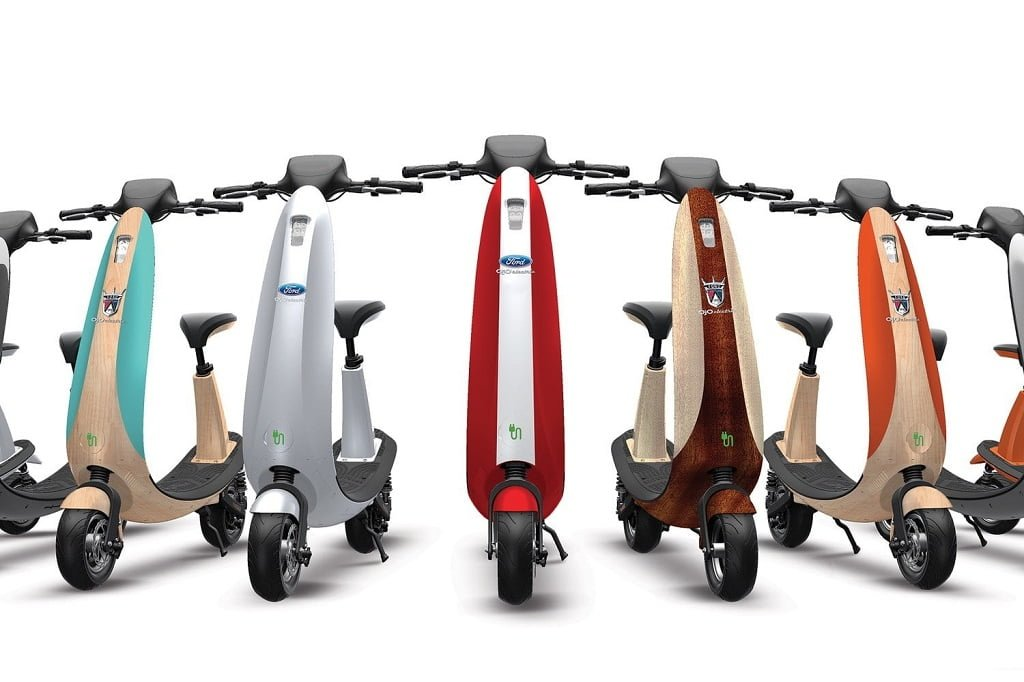The new Ford OjO electric scooter is designed explicitly for long-lasting  durability and optimal power. It is a bike lane-friendly, zero-emission  smart ...