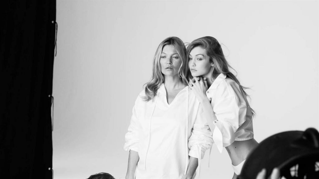 Gigi Hadid and Kate Moss Feature in Stuart Weitzman's Ad Campaign