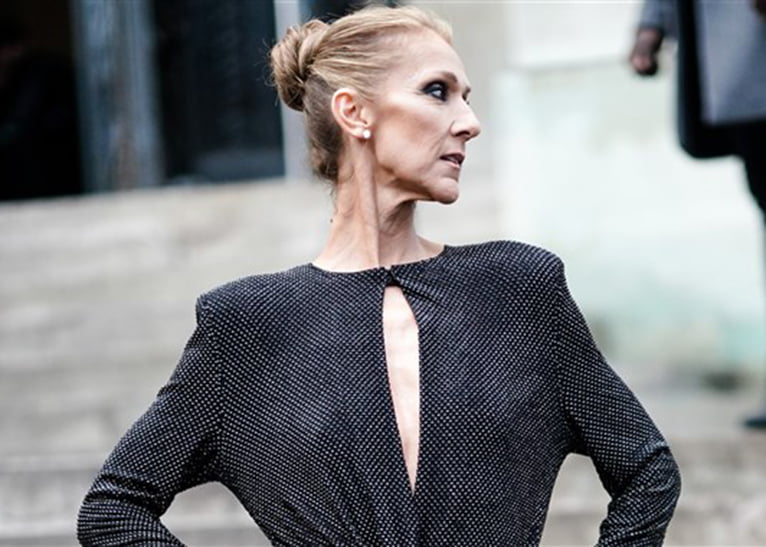 Celine Dion too thin
