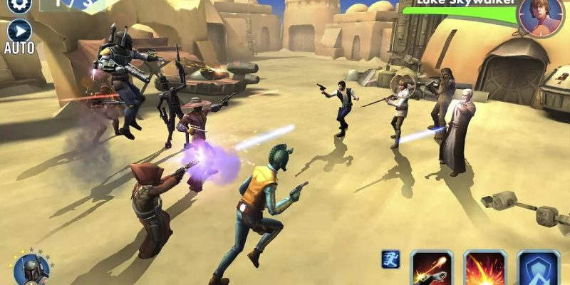 Be With the Force in the Star Wars Galaxy of Heroes Mobile Game