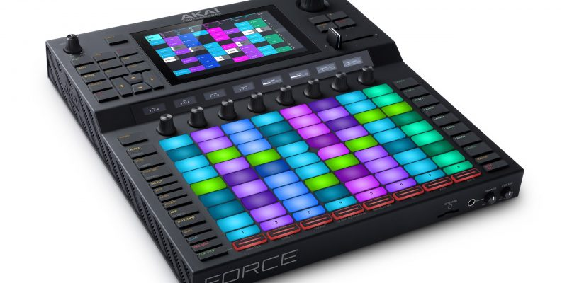 Akai Professional Introduces Force Standalone Production Instrument