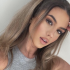Amelia Gray Hamlin Shares Sultry Poses in Purple Lingerie